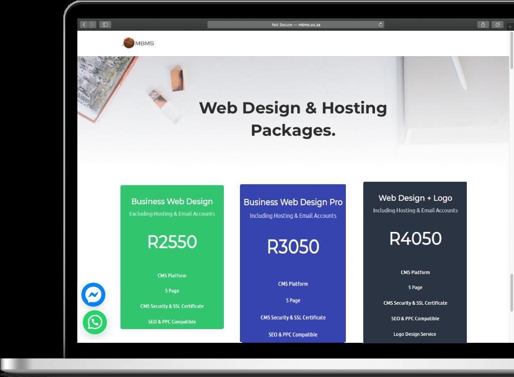 Web design, website design, web developers, south africa